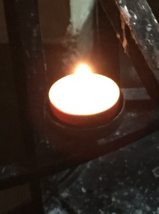 07 Lighting a Candle in Canterbury Cathedral
