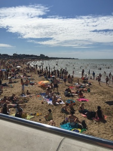 16 Crowded Margate Beach