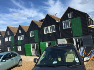 18 Beach Huts in Whitstable