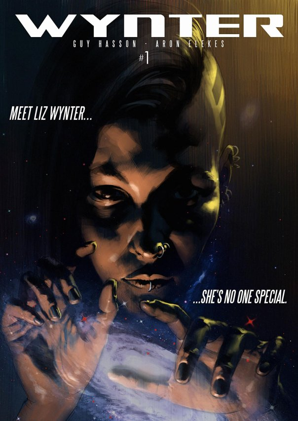 Cover of the comic book Wynter