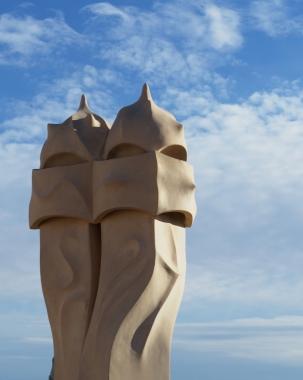 la-pedrera-chimney-detail